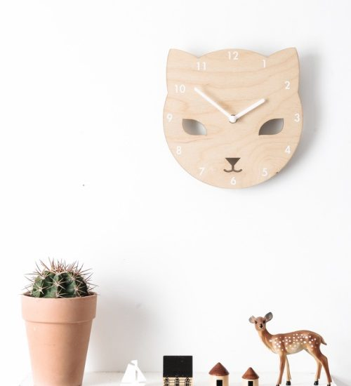 cece-the-cat-wall-clock
