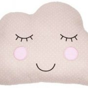 Pale Pink Sweet Dreams Cloud Cushion