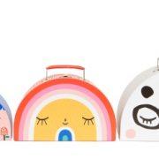 Double face suitcase set Panda SC1 c