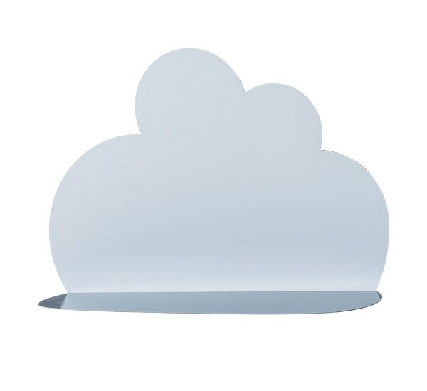 FUR242 Cloud Shelf, Blue, Metal